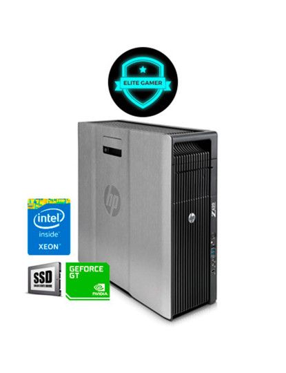 Recondicionado HP Z620 TWR - 2x Xeon DecaCore, 8GB RAM, Disco SSd, Nvidia GT 1030 2GB