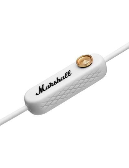 Auscultadores In -Ear Marshall Minor II Bluetooth Branco