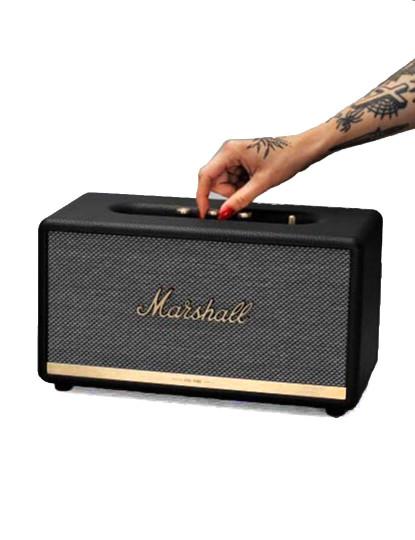 Coluna Marshall Bluetooth Stanmore II Preto