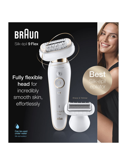 Braun Depiladora Silk Épil Flex 9002 Essential