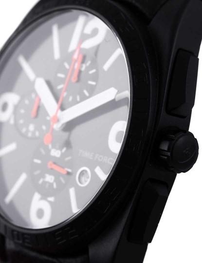 4b2b46651cb Relógio Time Force Cronógrafo Preto