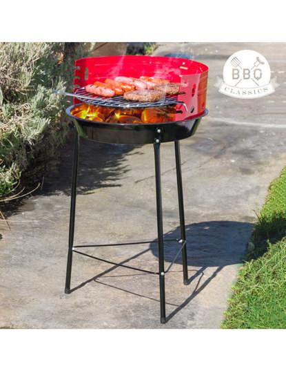 Churrasqueira a Carvão com Pernas BBQ Classics