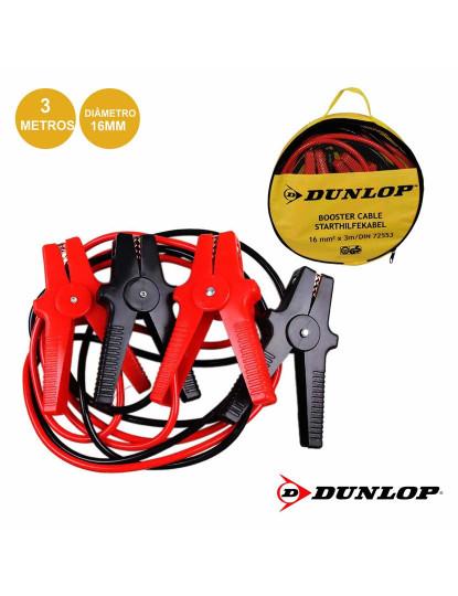 Cabos de Bateria Dunlop c/ 3m Capacidade até 220A