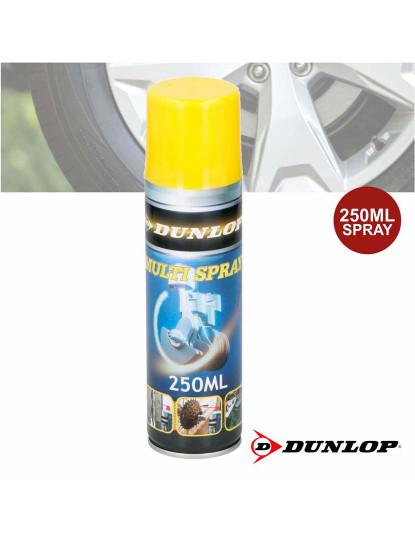 Spray Lubrificante Multifunções Profissional Dunlop Capacidade 250ml