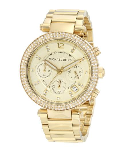 359a9cf1c ... Relógio Michael Kors Parker Dourado Senhora ...