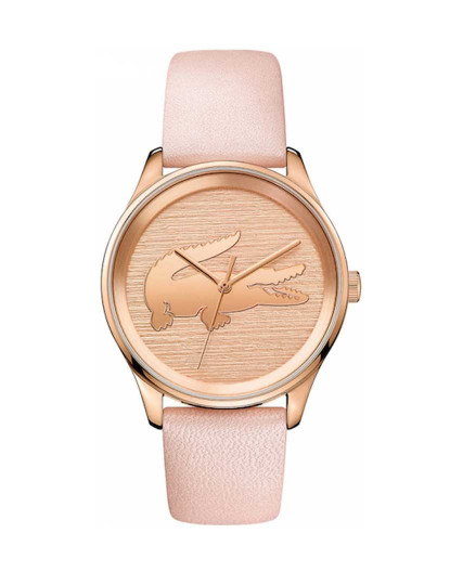 3a67d8d1873 Relógio Lacoste Rosa Dourado Senhora