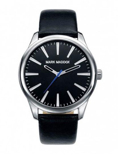 3ff78058639 Relógio Mark Maddox Preto e Prateado