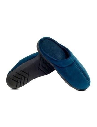 Pantufas Confort Gel Azul Tamanho S: 35,36,37
