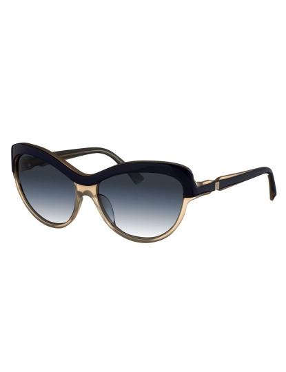 Óculos de Sol Nina Ricci Cat-Eye Azul Escuro e Transparente, até ... 0883fb761c