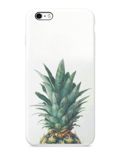 Capa Pinapple Reaction Iphone e Samsung Branco