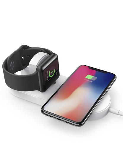 Carregador QI Fast Charge Iphone / Samsung / Smartphones / Iwatch