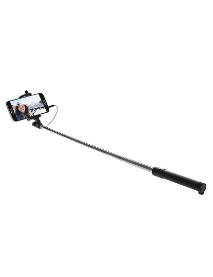 Selfie Stick Extensível Branco