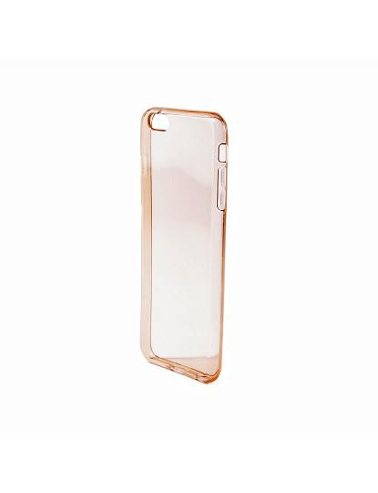 Capa Gel Iphone 6Plus Dourado