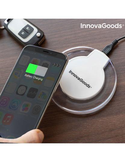 Carregador s/ Fios Smartphones QI Branco