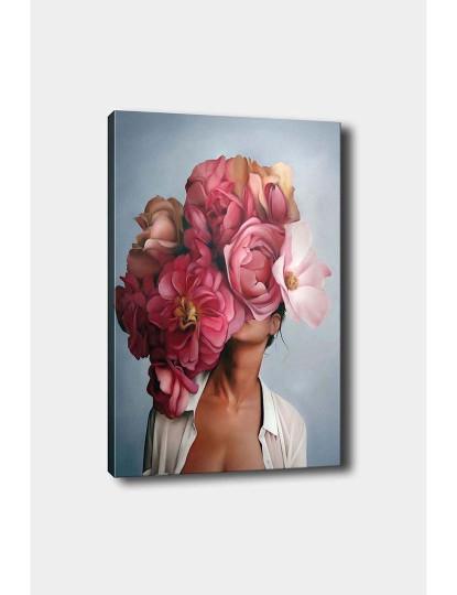 Tela Flower Lady Rosa