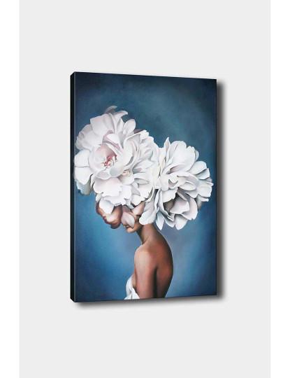 Tela Flower Lady Branco