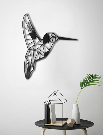 Decoração Parede Metal Bird