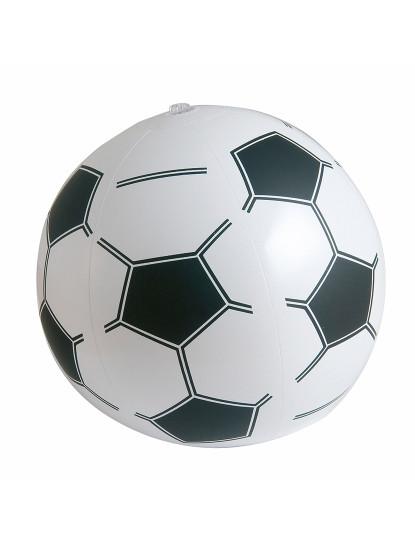 Bola Futebol Insuflável Branco e Preto