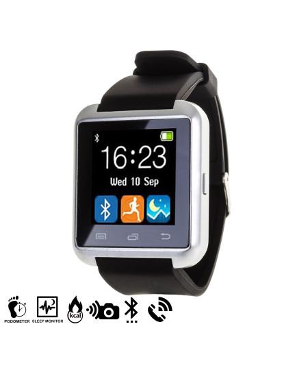 Smartwatch U8 Bluetooth - Prateado