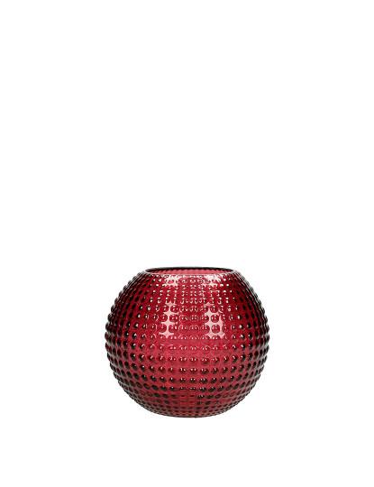 Vaso de Vidro 14,8x14,8x13 Bordeaux