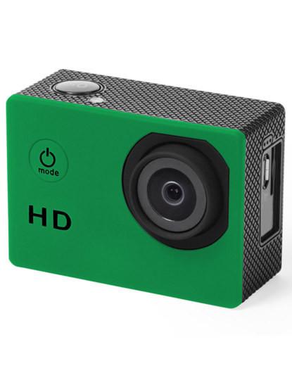 Câmara Desportiva de captura de vídeo HD 720p com Ecrã 2'' Verde