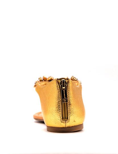 Sandálias rasas Jessica Simpson Radient Dourado