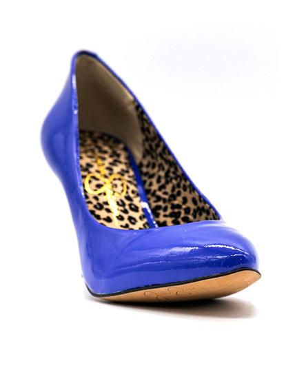 Sapatos salto alto Jessica Simpson Neonas 6 Roxo Atomico
