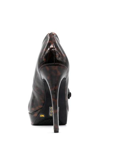 Sapato Salto alto Jessica Simpson envernizado Castanho