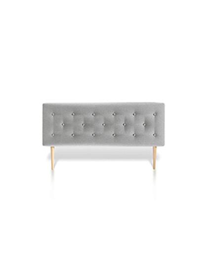 Cabeceira de cama Botonê Cinzenta 150X60