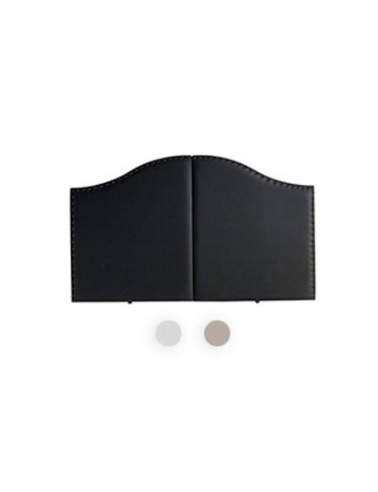 Cabeceira de cama Classic Cravejado  160 x 95 x 5 cm Branco