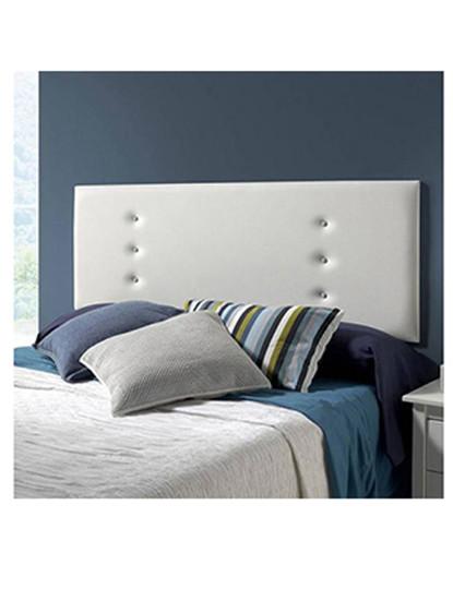 Cabeceira de cama Simple Branco 160 x 55 x 4 cm