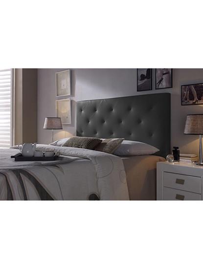 Cabeceira de cama Diamond Preta 150X60