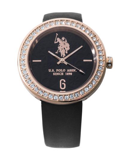2d7c437fb50 Relógio Us Polo Asnn Preto Senhora