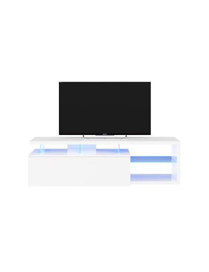 Conjunto TV Forés Led-Tech Branco