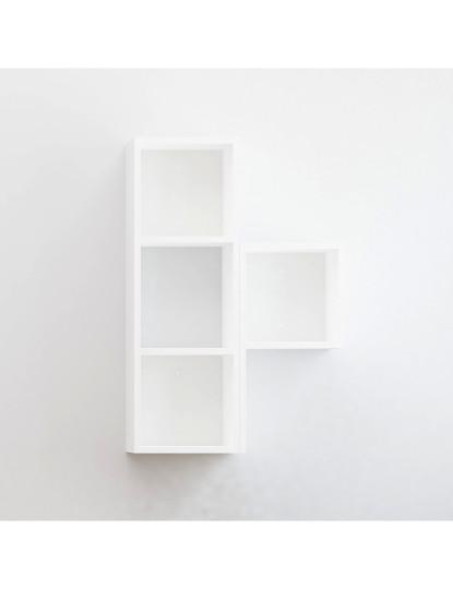Prateleira de parede Begonya 3 Branco