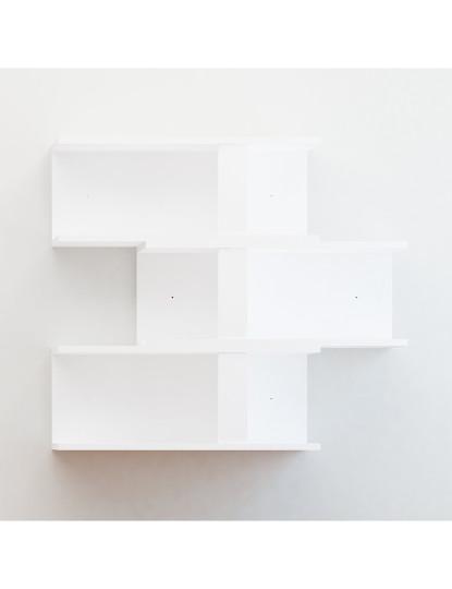 Prateleira de parede Nergis 3 Branco