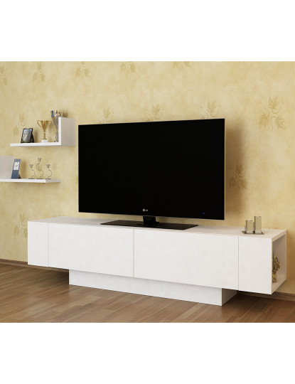 Móvel de tv  Ekol Branco