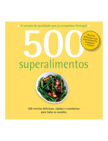 500 Receitas: Superalimentos