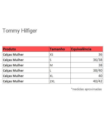 Calças de Ganga Tommy Hilfiger Senhora Pretas