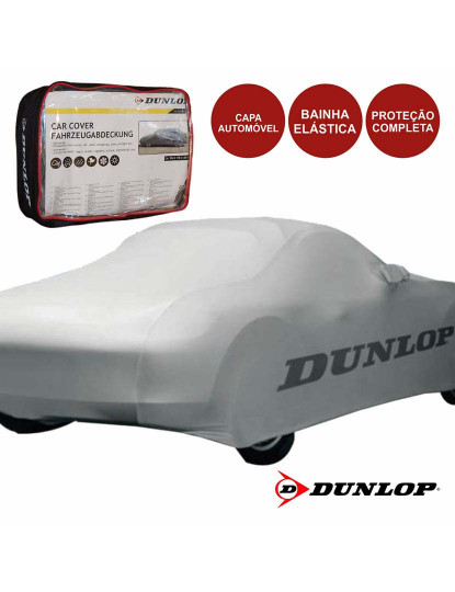 Capa Automóvel Premium Dunlop Resistente à Água Proteção UV e Intempérie
