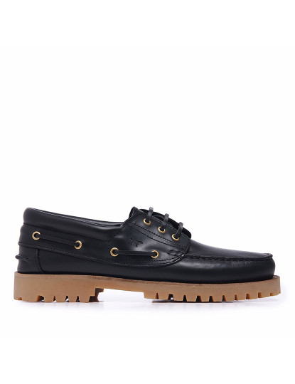 Sapato De Homem Deckard preto verniz sola branca , até 2015