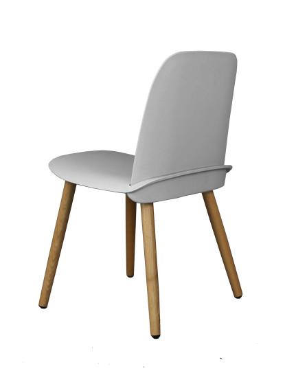 Cadeira Wood Gum Cinza