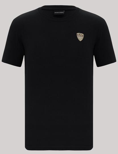 T-shirts Armani Homem Preto