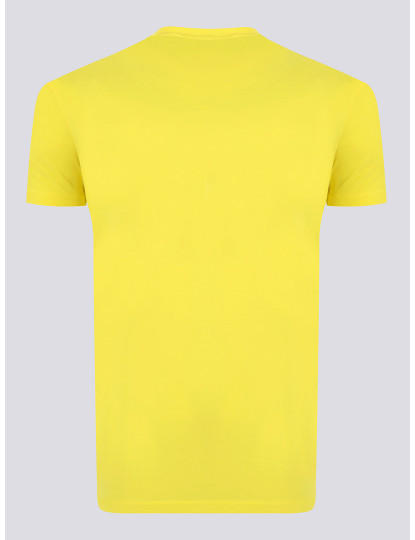 T-shirts Dsquared Homem Amarelo