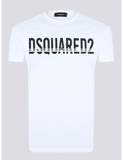 T-shirts Dsquared Homem Branco