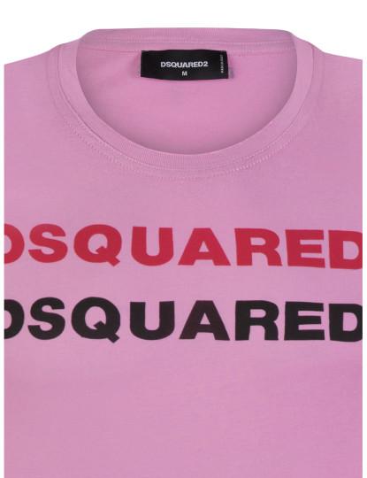 T-shirts Dsquared Homem Rosa