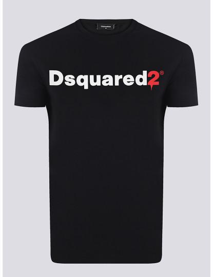 T-shirts Dsquared Homem Preto