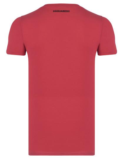 T-shirts Dsquared Homem Vermelho United