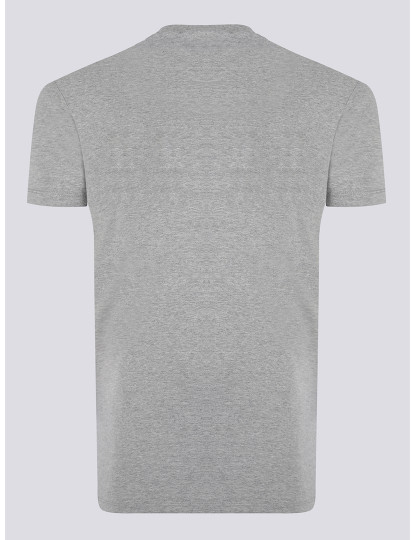 T-shirts Dsquared Homem Cinza Mesclado
