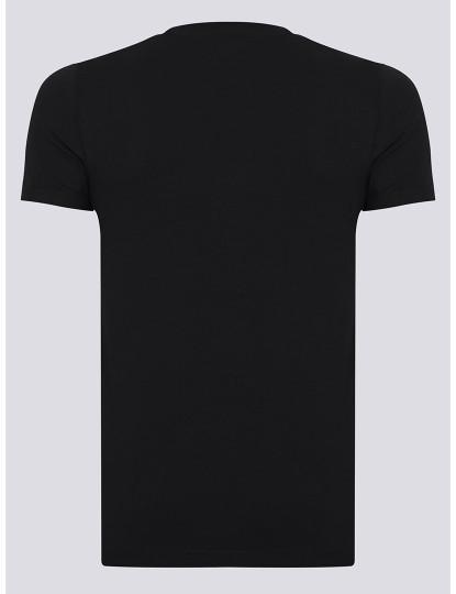 T-shirts Decote Redondo Ralph Lauren Homem Preto